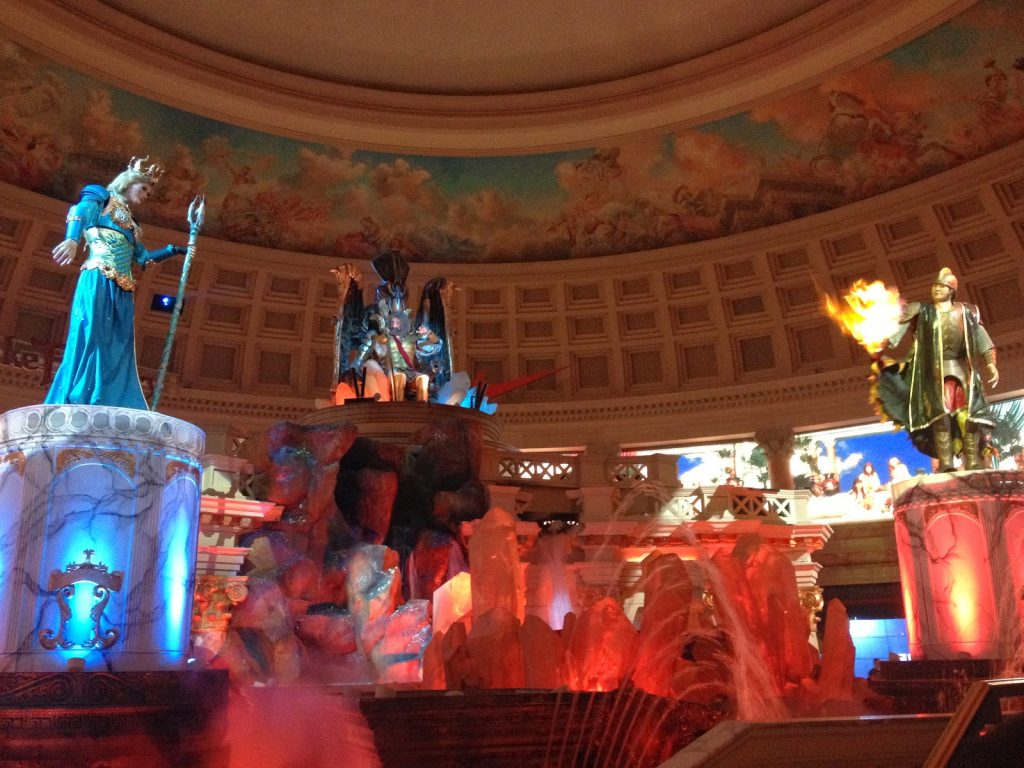 Fall of Atlantis no Ceasar Forum Shops