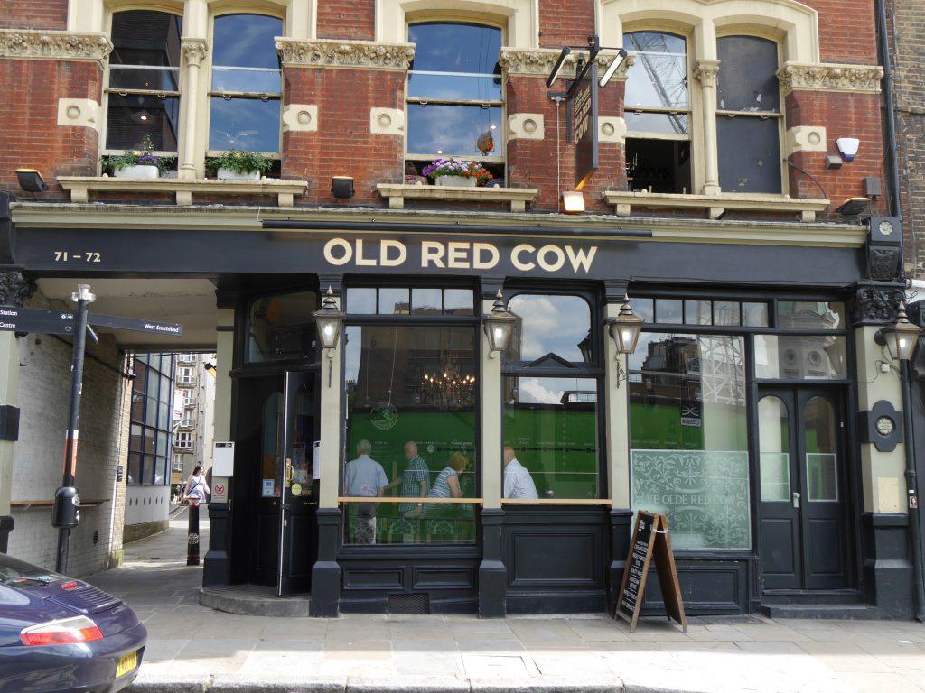 Old_Red_Cow, Smithfield cerveja artesanal em londres