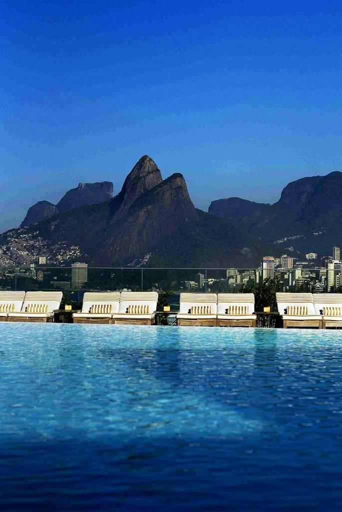 Piscinas mais lindas do mundo – Fasano Rio, Rio de Janeiro, Brasil