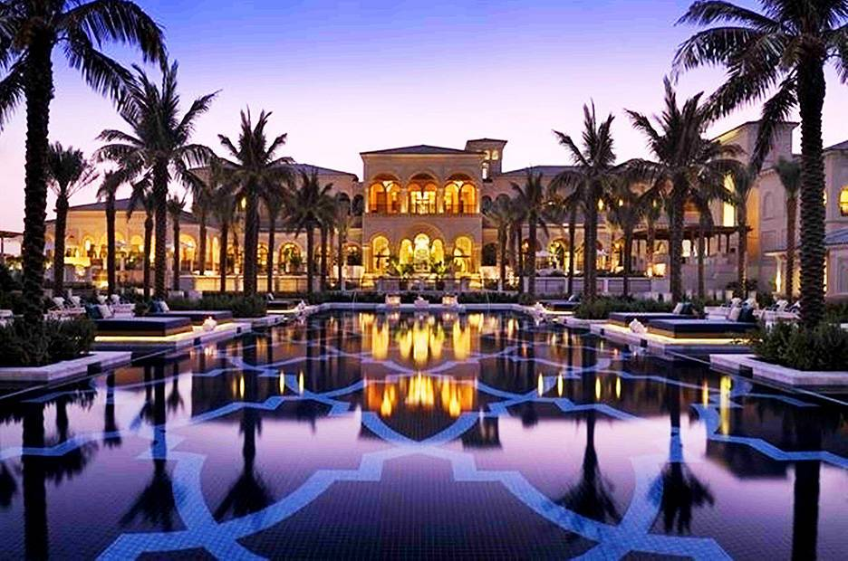 Piscinas mais lindas do mundo – One & Only The Palm, Dubai