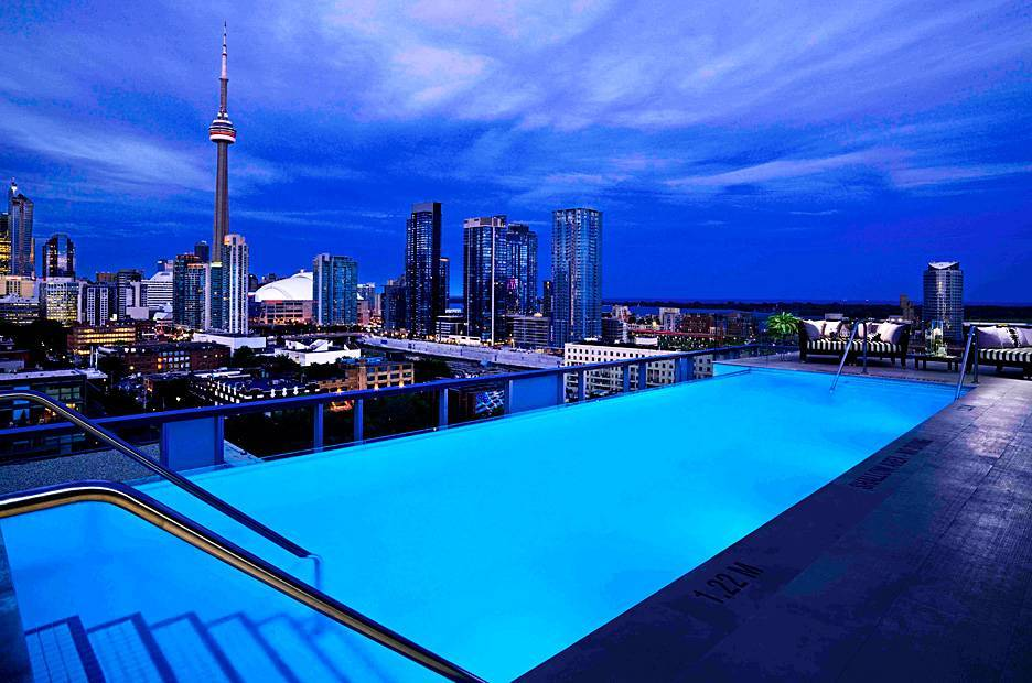 Piscinas mais lindas do mundo – Thompson Toronto, Toronto, Canada