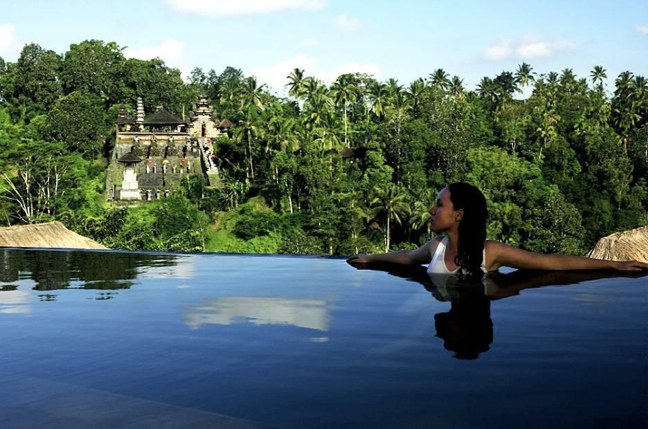 Piscinas mais lindas do mundo – Ubud Hanging Gardens, Bali