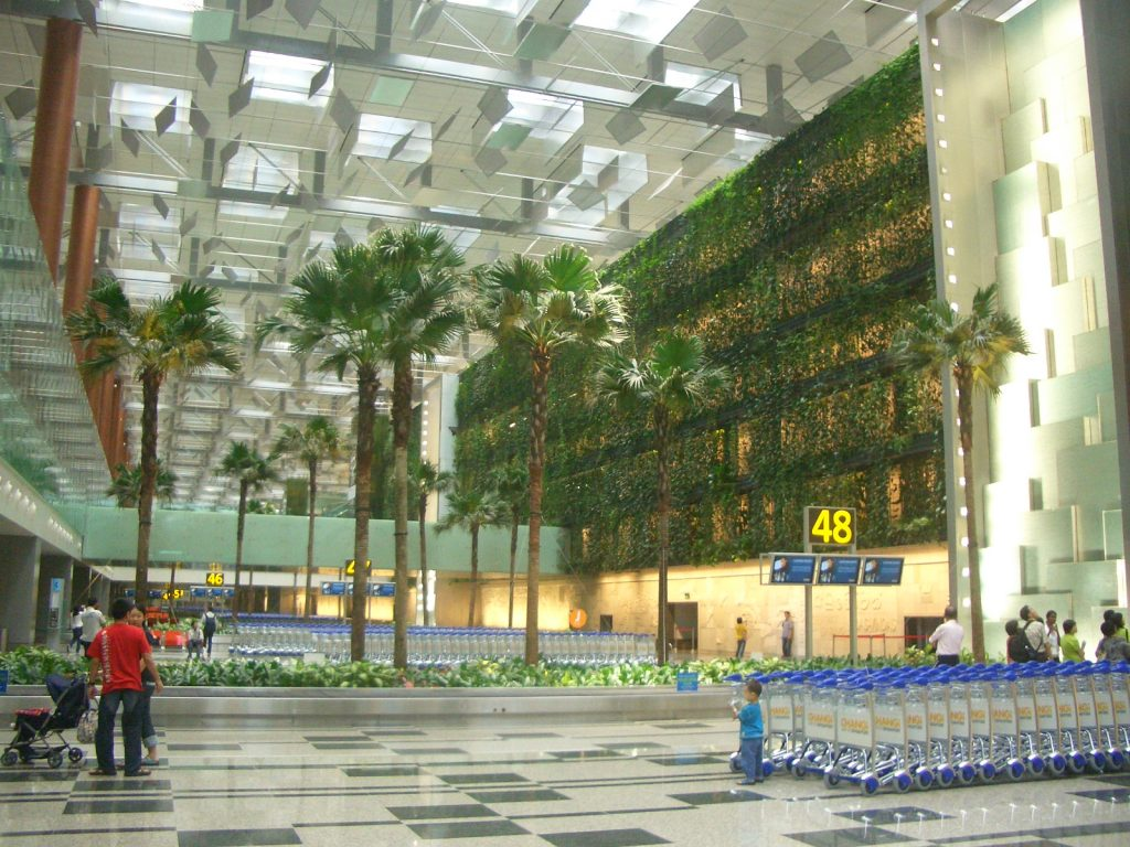 Singapore Changi Airport (Cingapura)