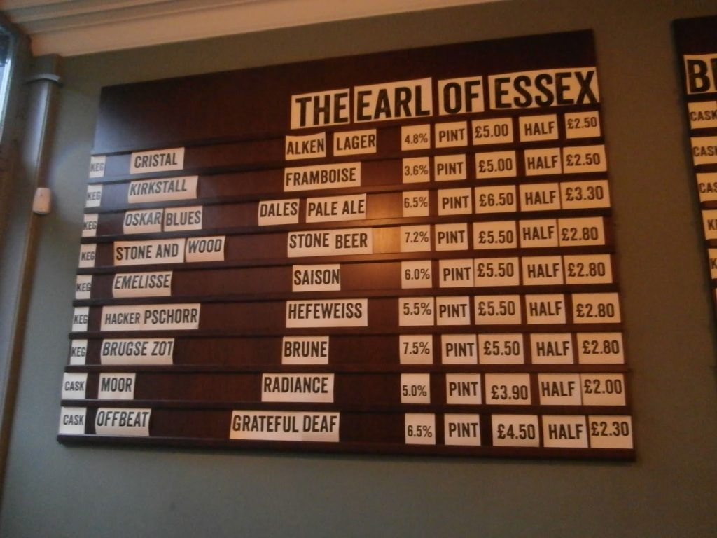 The Earl of Essex, Islington2