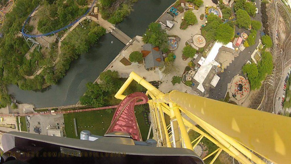 Top Thrill Dragster (Ohio, EUA)2