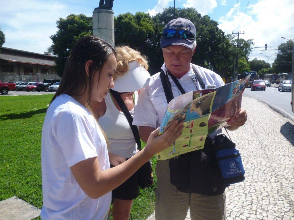 mapa turistas