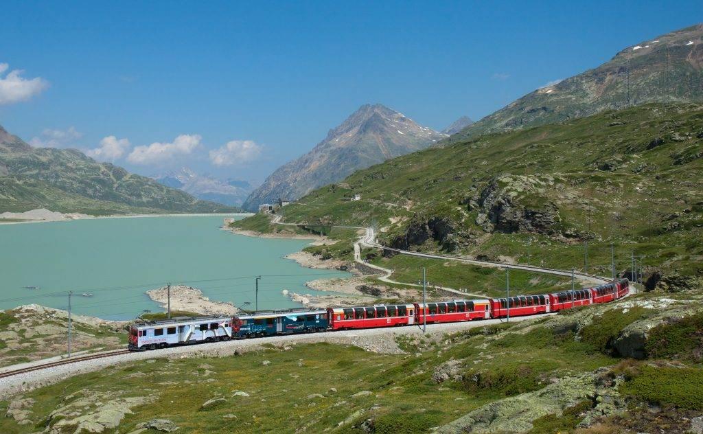 Bernina Express viagens de trem blog Mar-Tha Rio