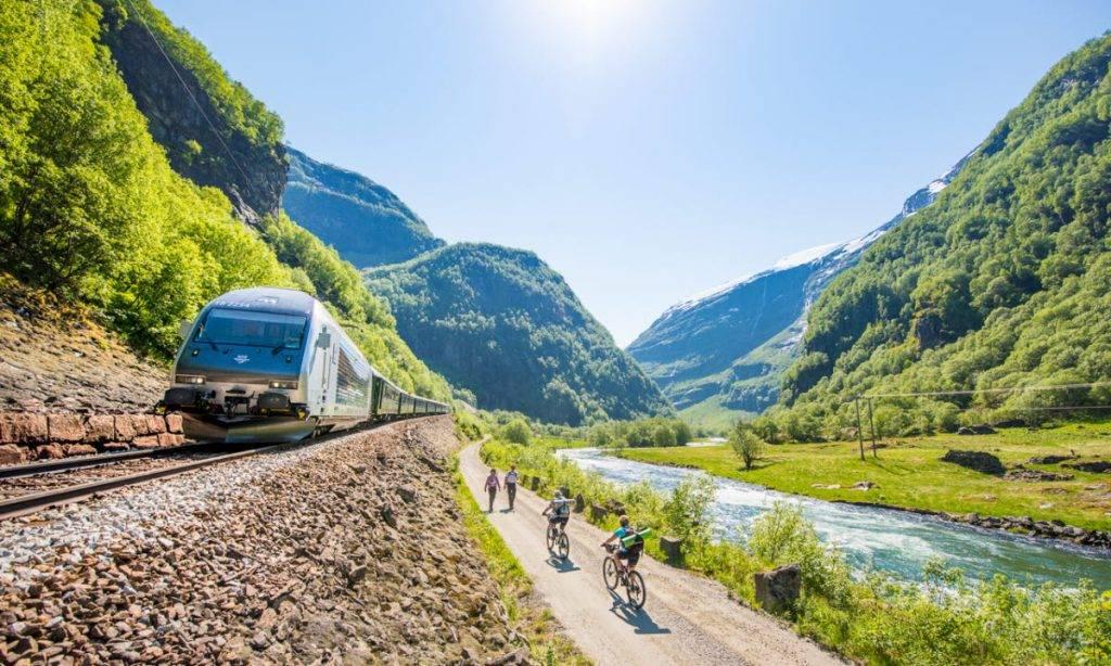 Flam Railway viagens de trem blog Mar-Tha Rio