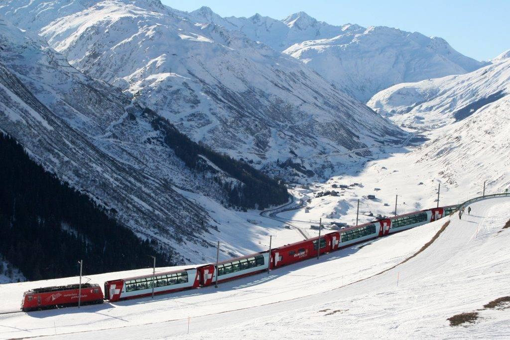 Glacier Express viagens de trem blog Mar-Tha Rio
