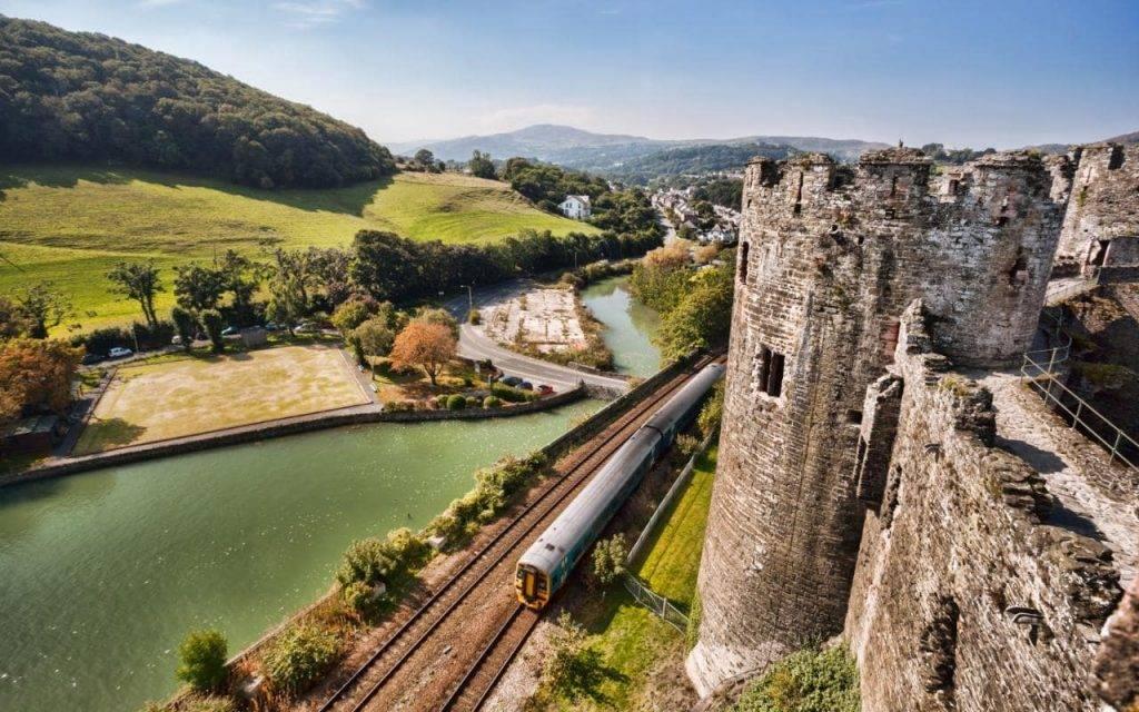 Gra Bretanha viagens de trem blog Mar-Tha Rio