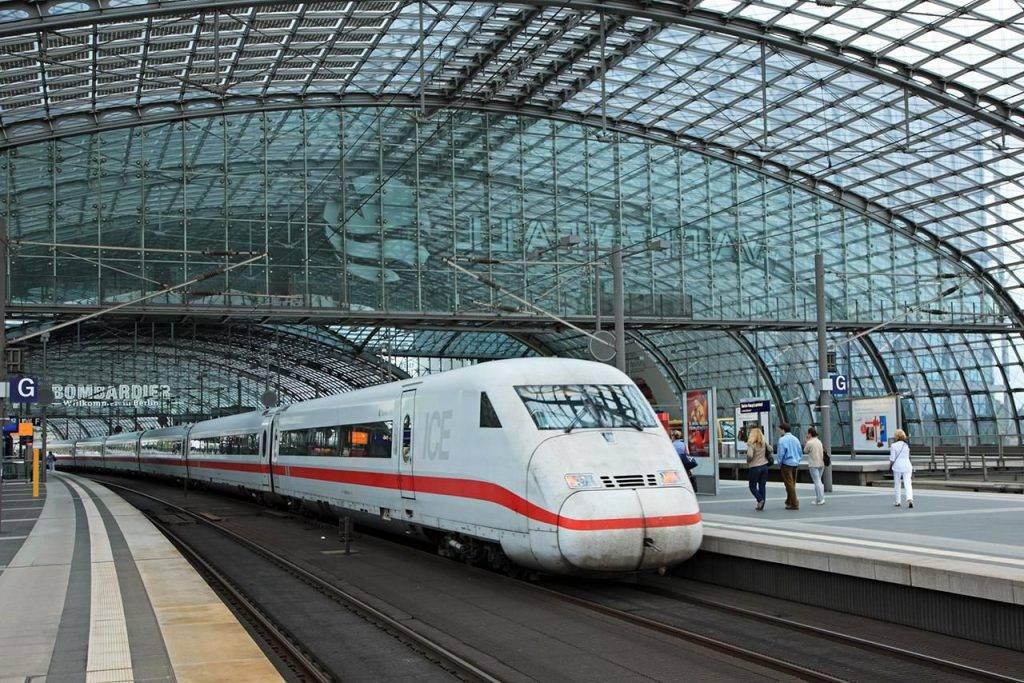 InterCity Express (ICE) viagens de trem blog Mar-Tha Rio