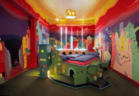 Propeller Island City Lodge in Berlin-Castle bed tourism destinations
