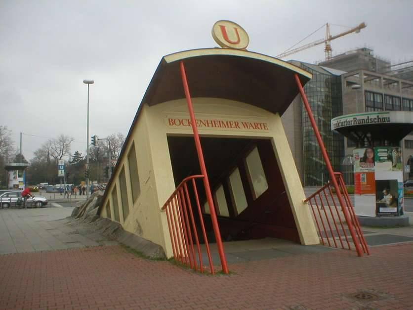 Bockenheimer Warte U-bahn (Frankfurt)