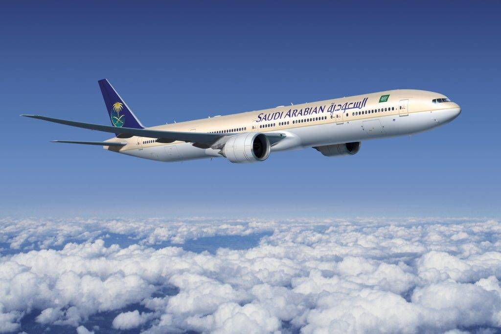 Saudi Arabian 777-300ER Artwork K65053
