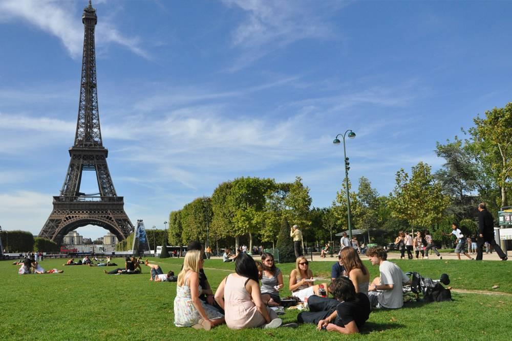 fazer em Paris Champ de Mars