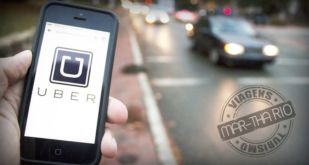 Como usar o Uber na Disney Destaque