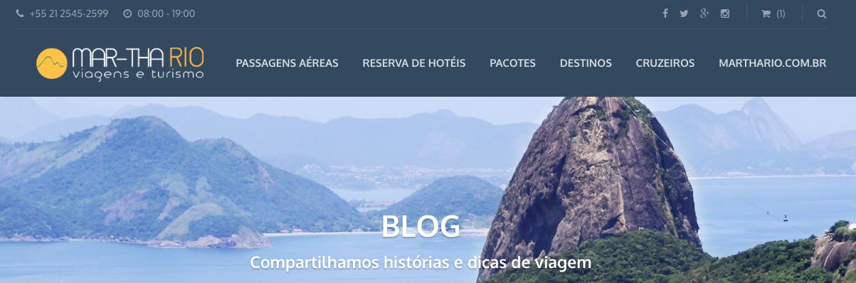 Melhor Blog de Turismo