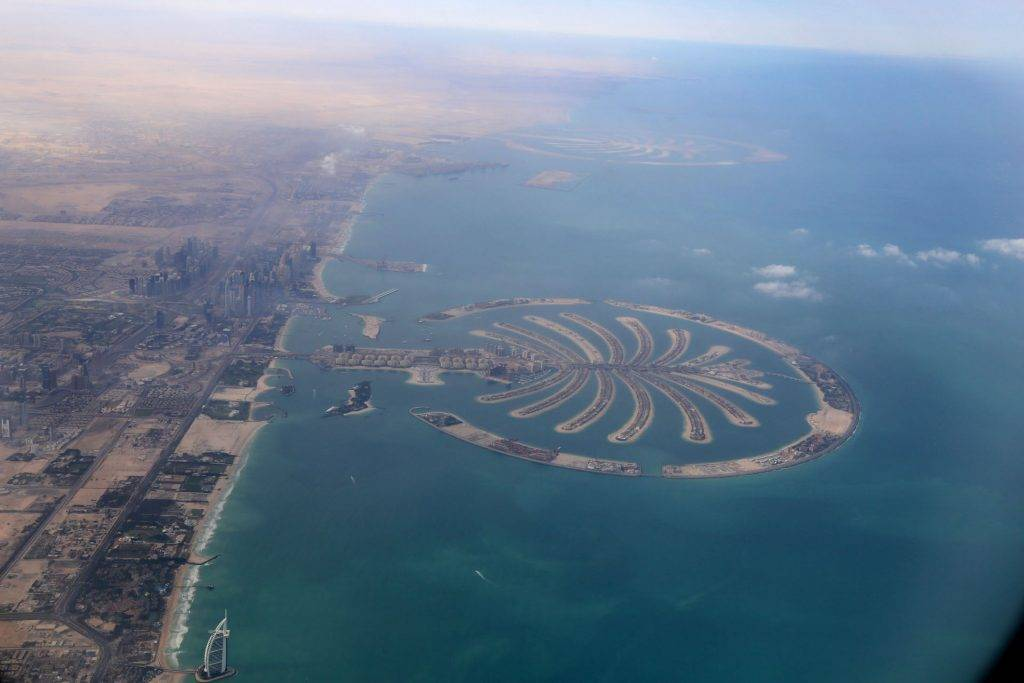 Palm Islands cidades mais visitadas do mundo