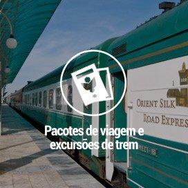 Pacotes de Viagens de Trem