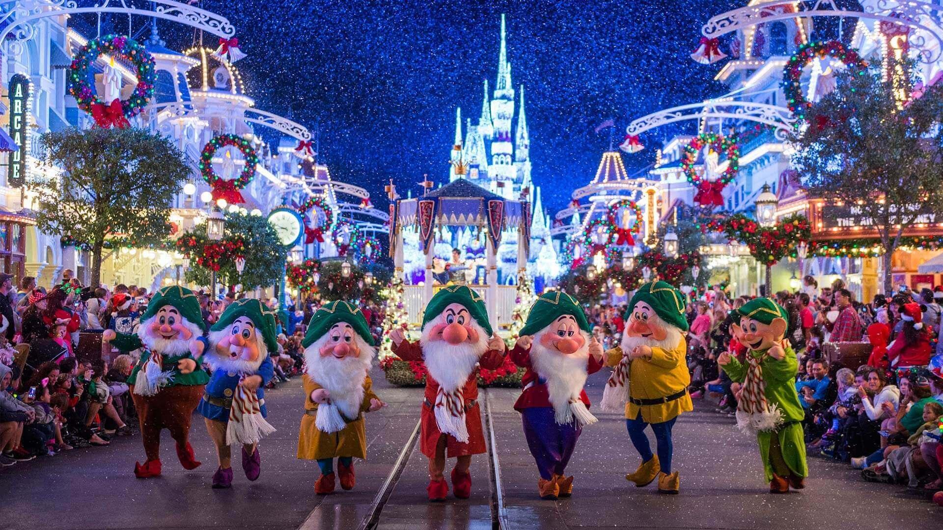 Final de ano na Disney