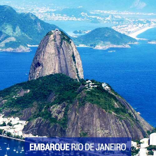 Viagens com Embarque no Rio de Janeiro