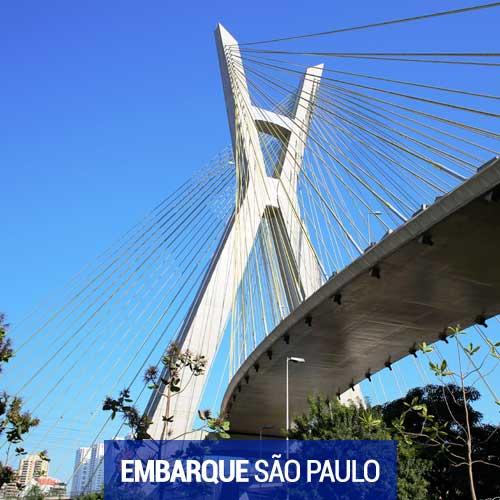 Viagens com Embarque em São Paulo