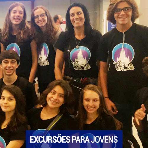Excursões para Jovens – Tia Cris Viagens