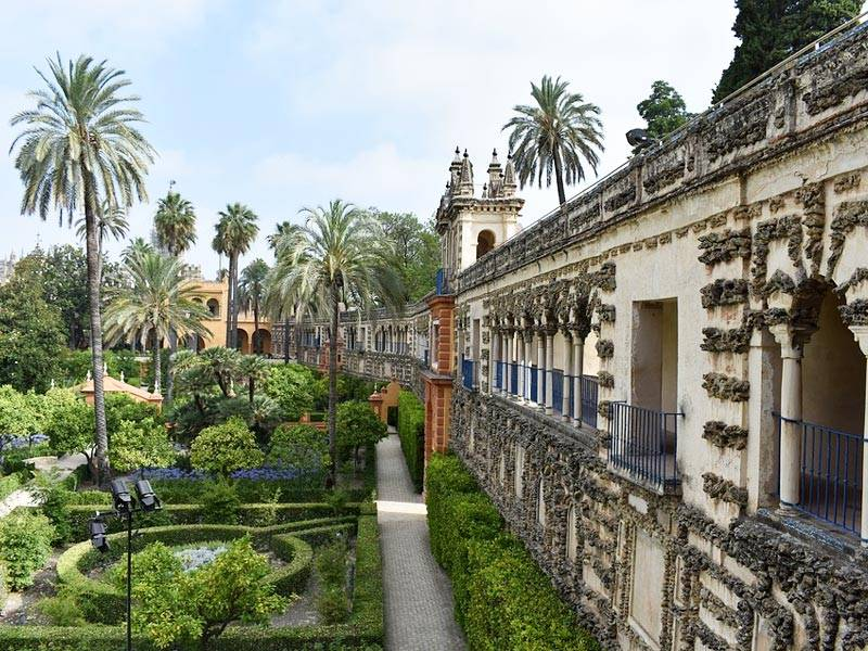 Real-Alcazar-De-Sevilla 7 lugares incríveis que inspiraram o mundo de Game of Thrones