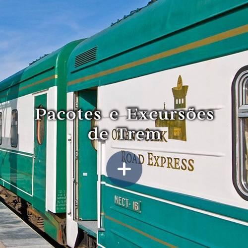 Pacotes e Excurções de Trem