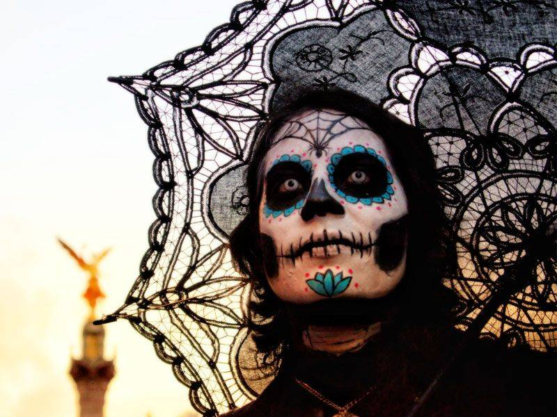 La Catrina, personagem popular do Dia dos Mortos mexicano