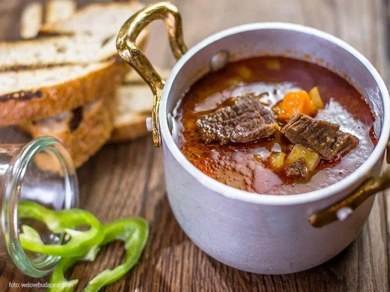 goulash, prato tradicional na hungria