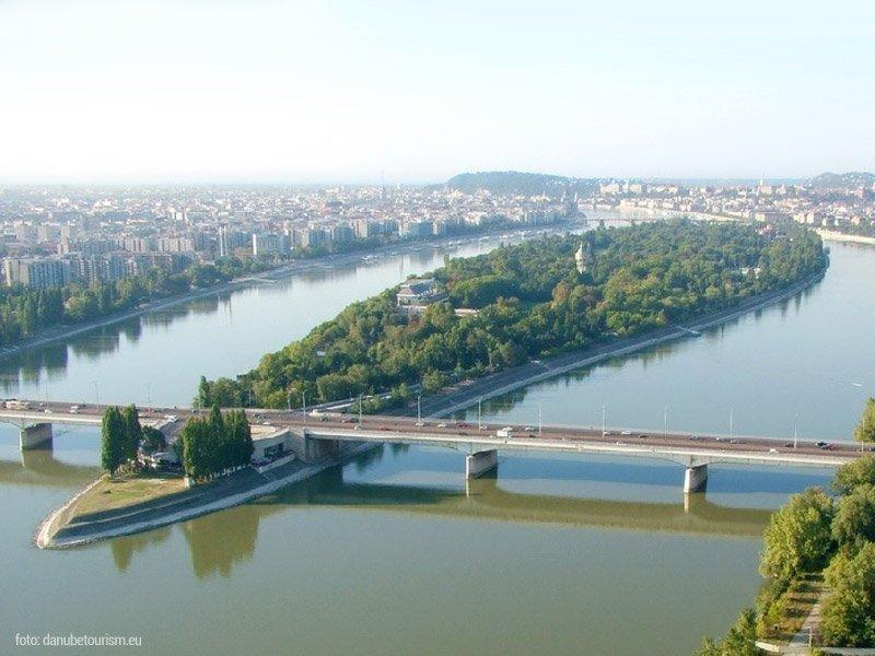 A ilha margaret fica no coração da cidade de Budapeste, melhor destino europeu de 2019