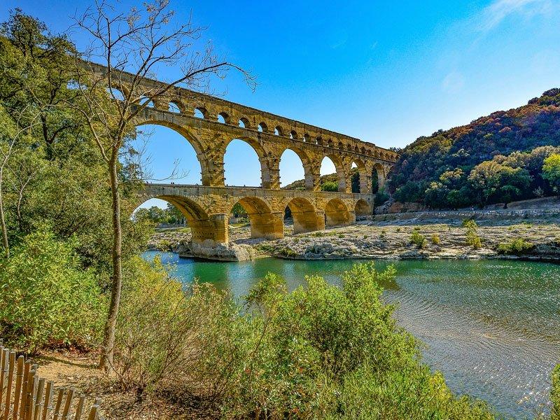 pont du gard no coração de provence