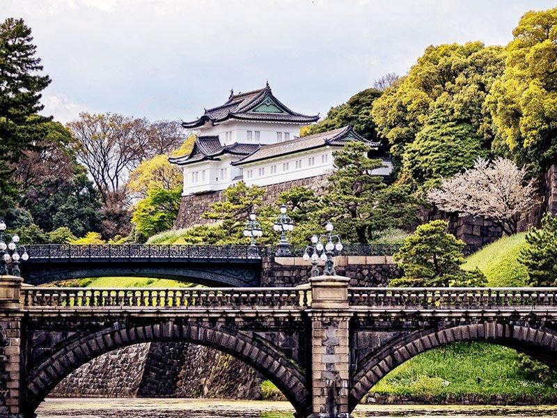 palácio imperial de tóquio, cidade-sede das Olimpíadas 2020