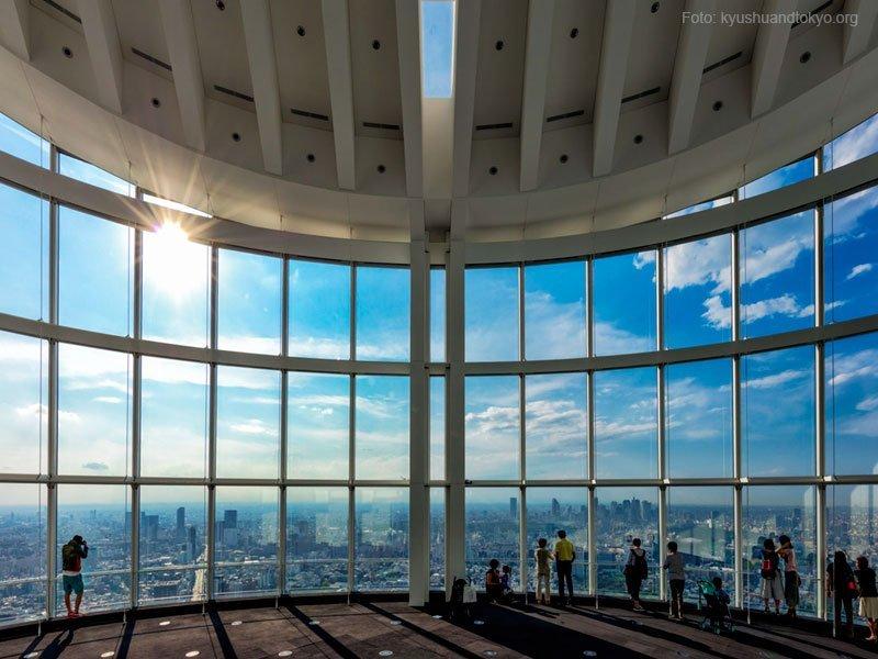 vista de tóquio, cidade-sede das Olimpíadas 2020