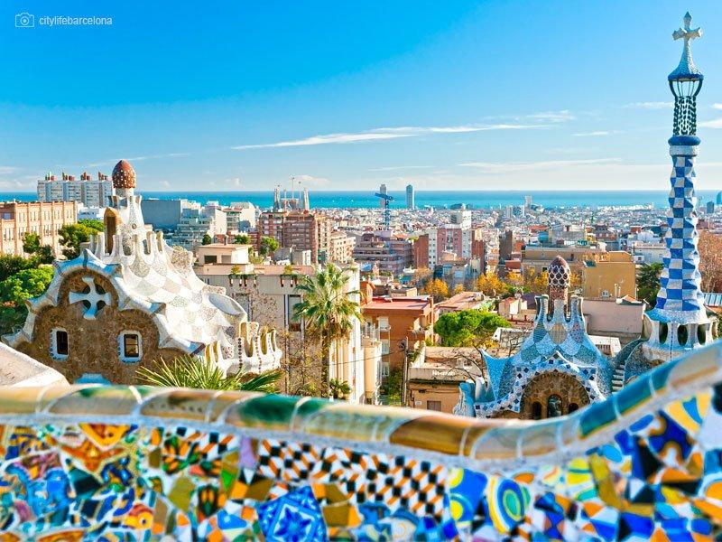O que fazer em Barcelona - melhores atrações da cidade - Parque Güell - praias mais bonitas de Barcelona - Cruzeiros e Viagens em Grupo para Barcelona