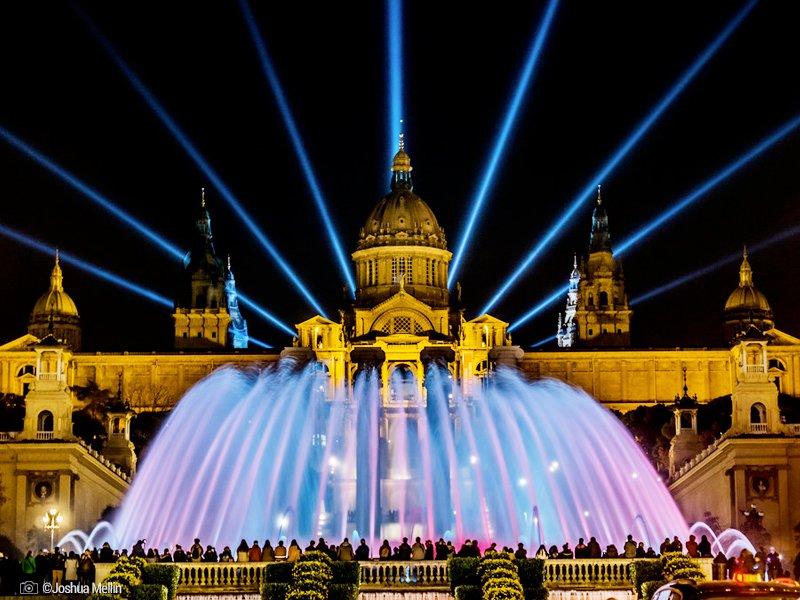 Plaça d'Espanya - Font Màgica