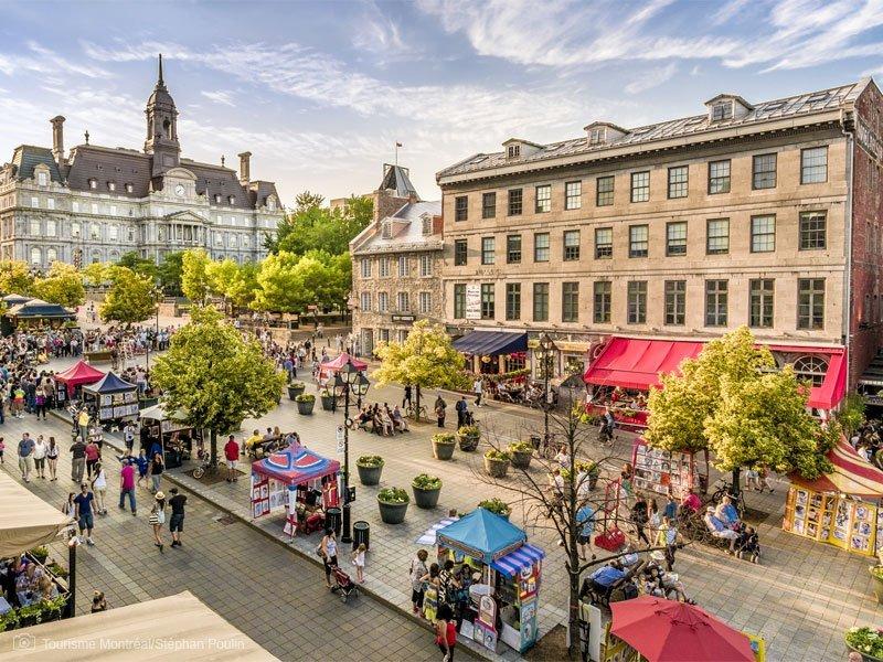 old montreal - pontos turísticos em Montreal - melhor época para viajar para Montreal - Jardim Botânico de Montreal - Cidade Subterrânea - basílica de notre-dame