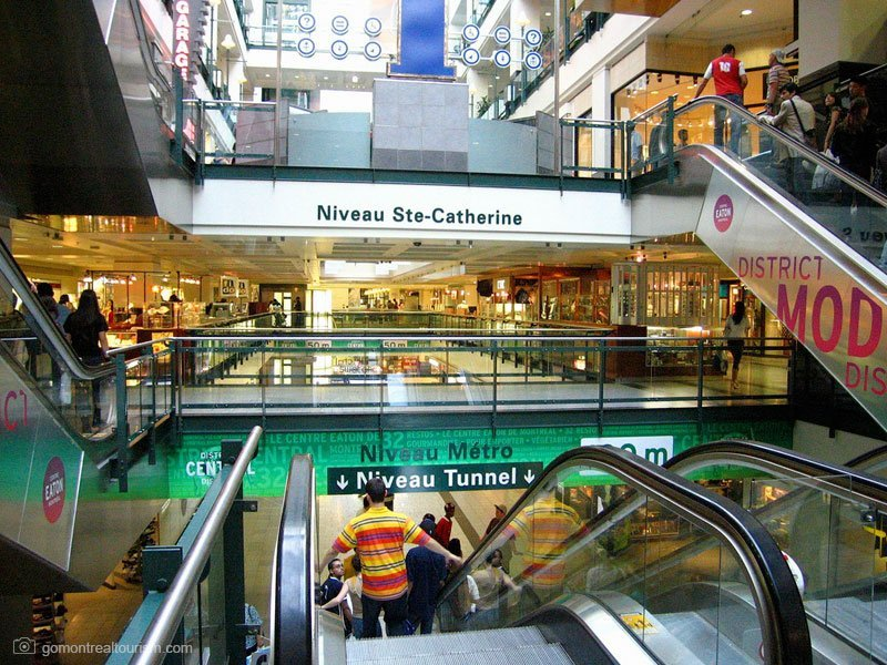 cidade subterrânea de montreal - underground city - réso